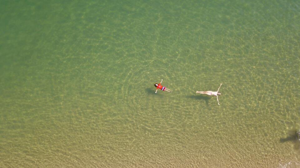 Inhaca Island Day Tour swimming
