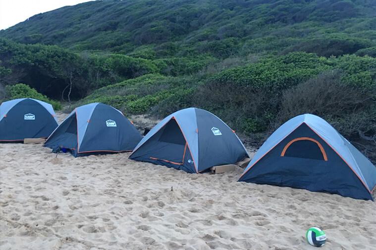 ponta membene camping tour