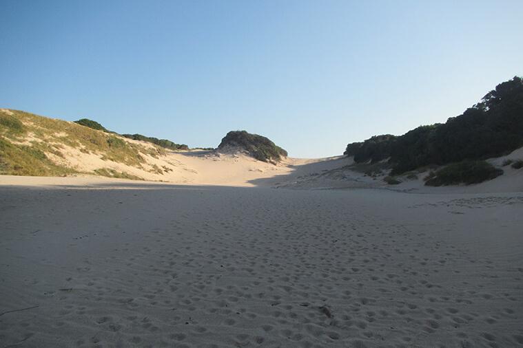 calanga beach dunes tour